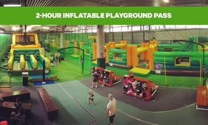 2-Hour Inflatable Playground Pass