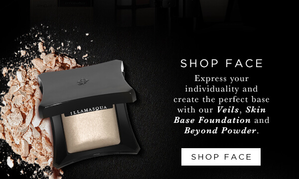 Shop face with 20 percent off