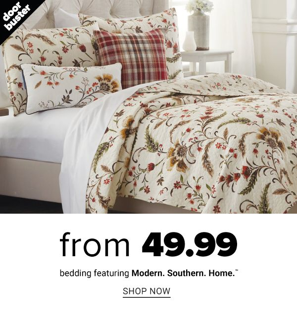 From 49.99 Bedding featuring Modern.Southern.Home. - Shop Now