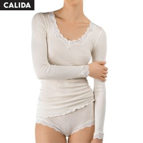 Calida Richesse Lace Long-sleeve Top
