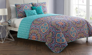 Yara Reversible Quilt Set Collection (4- or 5-Piece)