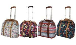 Lily Bloom Underseat Wheeled Cabin Totes Carry-On Luggage