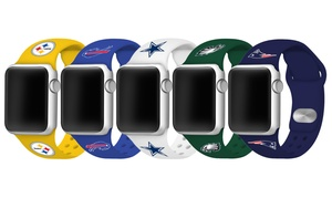 Game Time NFL 38/40mm or 42/44mm Apple Watch Silicone Band