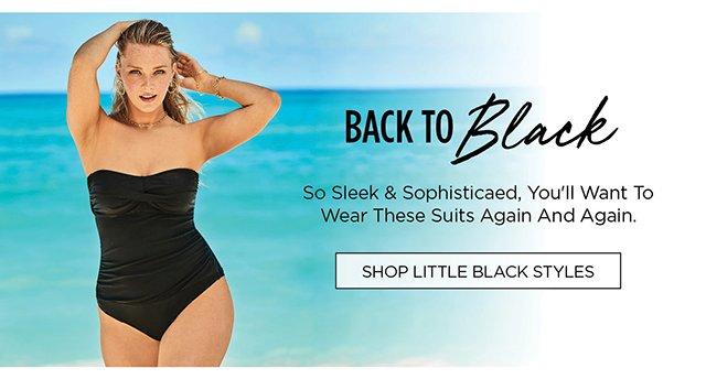 Back to Black | Shop Little Black Styles