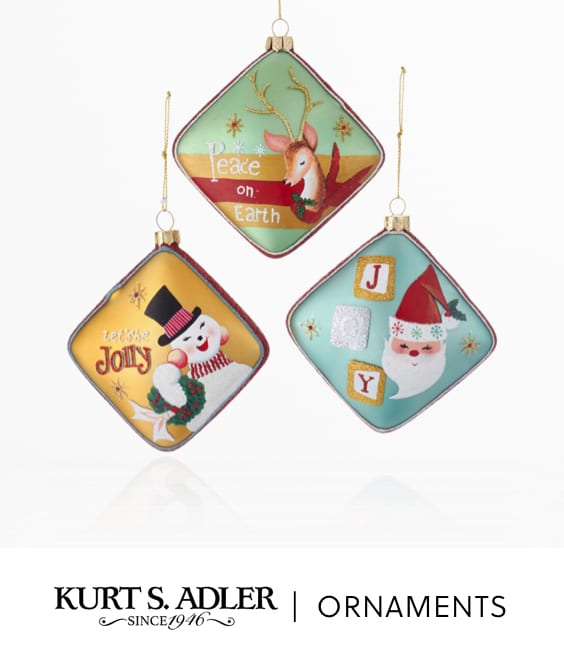 Kurt Adler | Ornaments