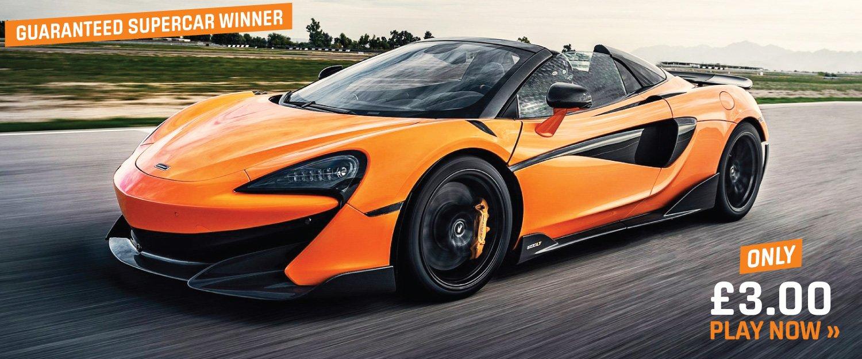 Win a McLaren 600LT Spider - this week only!