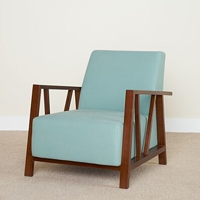 Liberty Mid-Century Modern Upholstered Accent Chair