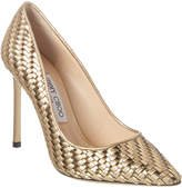 Romy 100 Metallic Leather Pump