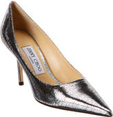 Love 85 Lizard-Print Leather Pump