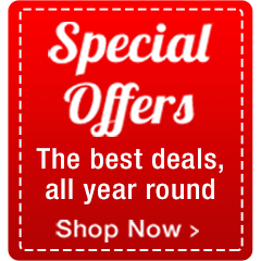 Special Offers. The Best Deals, All Year Round...Shop Now