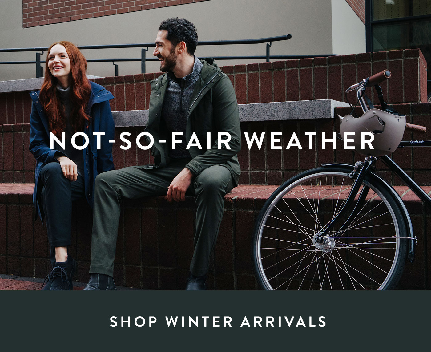 Our ultimate weatherproof gear is here