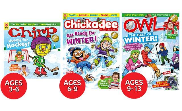 OWL/Chickadee/Chirp Magazine
