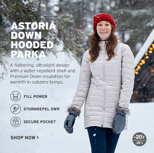 ASTORIA DOWN HOODED PARKA
