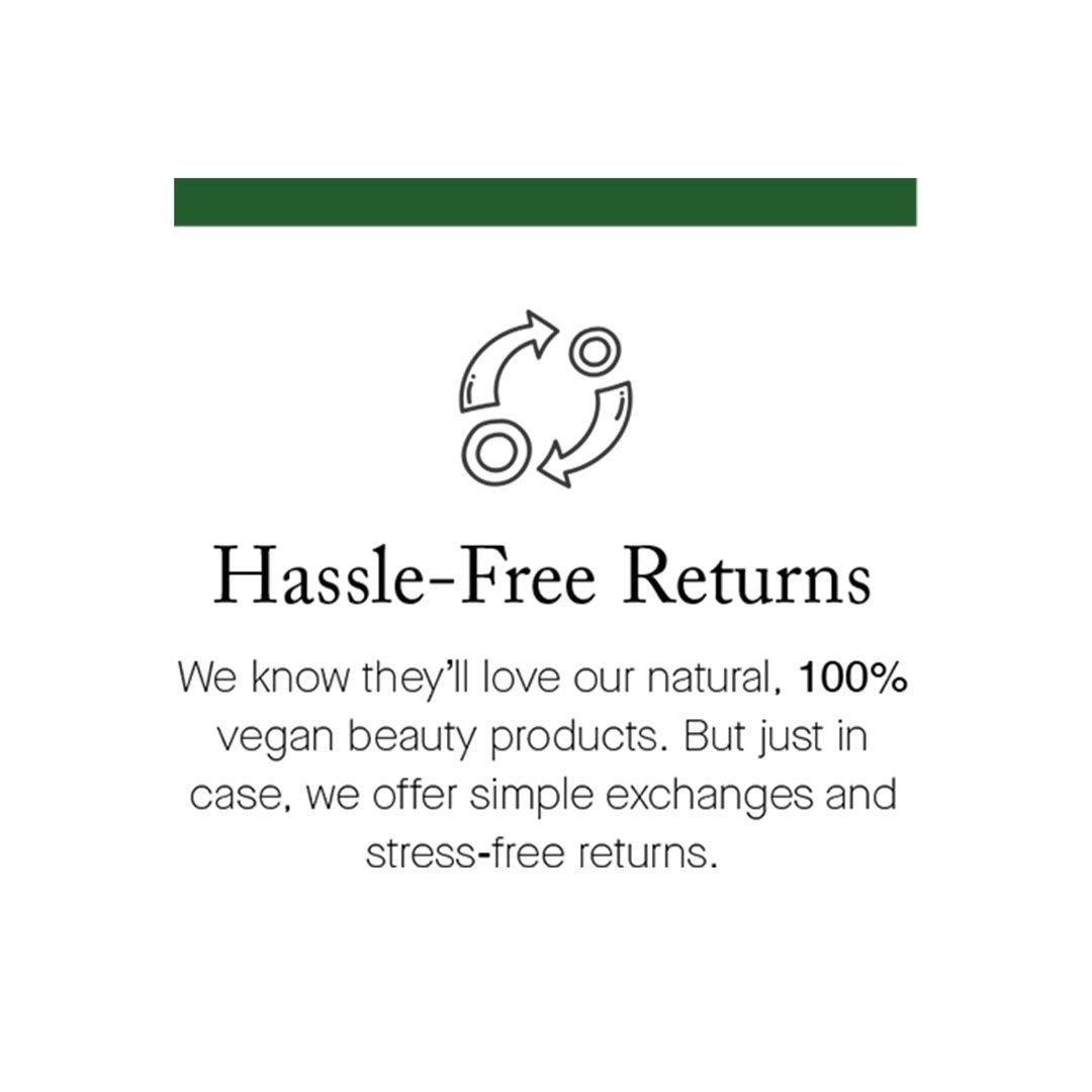 Hassle-Free Returns