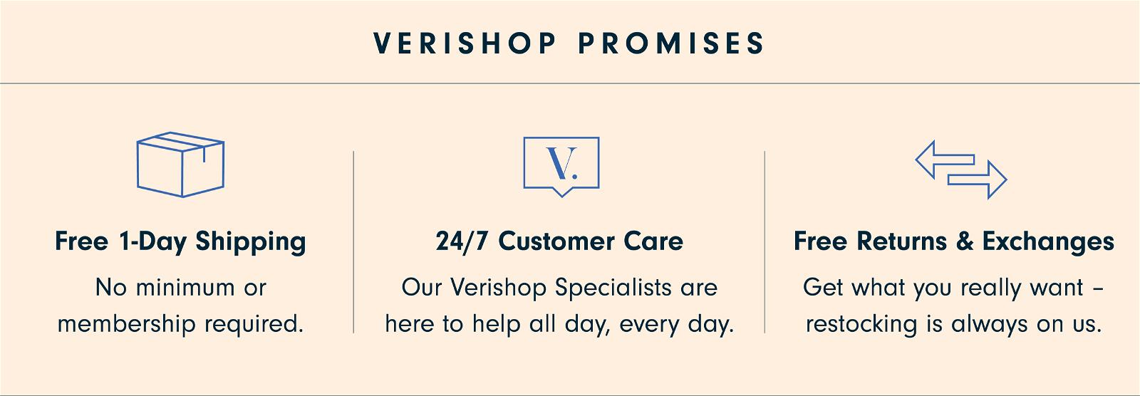 Verishop Promises