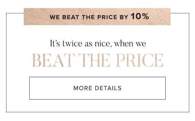 Price Match - En