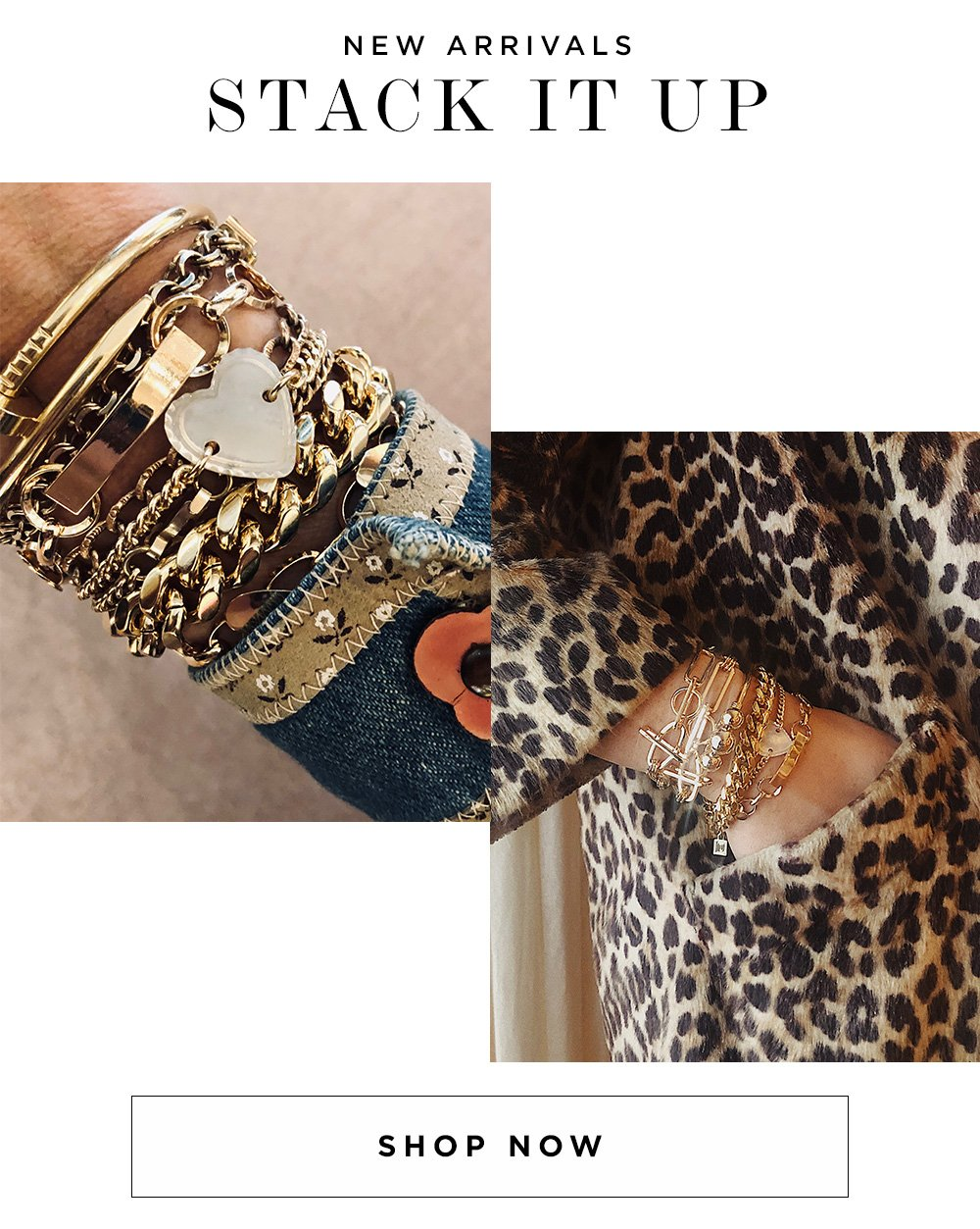 NEW ARRIVALS - STACK IT UP - SHOP NOW
