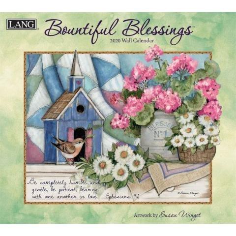 Bountiful Blessings Wall Calendar