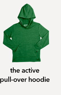 the active pull-over hoodie