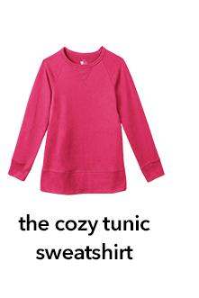 the cozy tunic sweatshirt