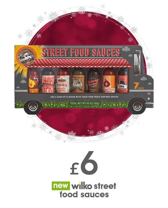 wilko street food sauces
