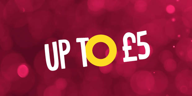 Up to £5