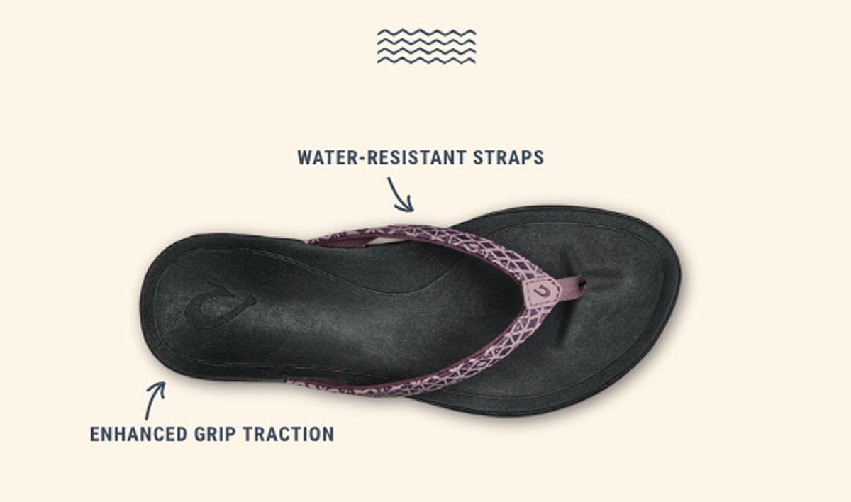 Women's Ho'opio. Water-Resistant Straps. Enhanced Grip Traction.