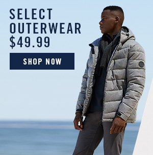 SHOP OUTERWEAR $49.99