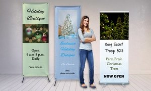 Roll-Up or Stand-Up Banner