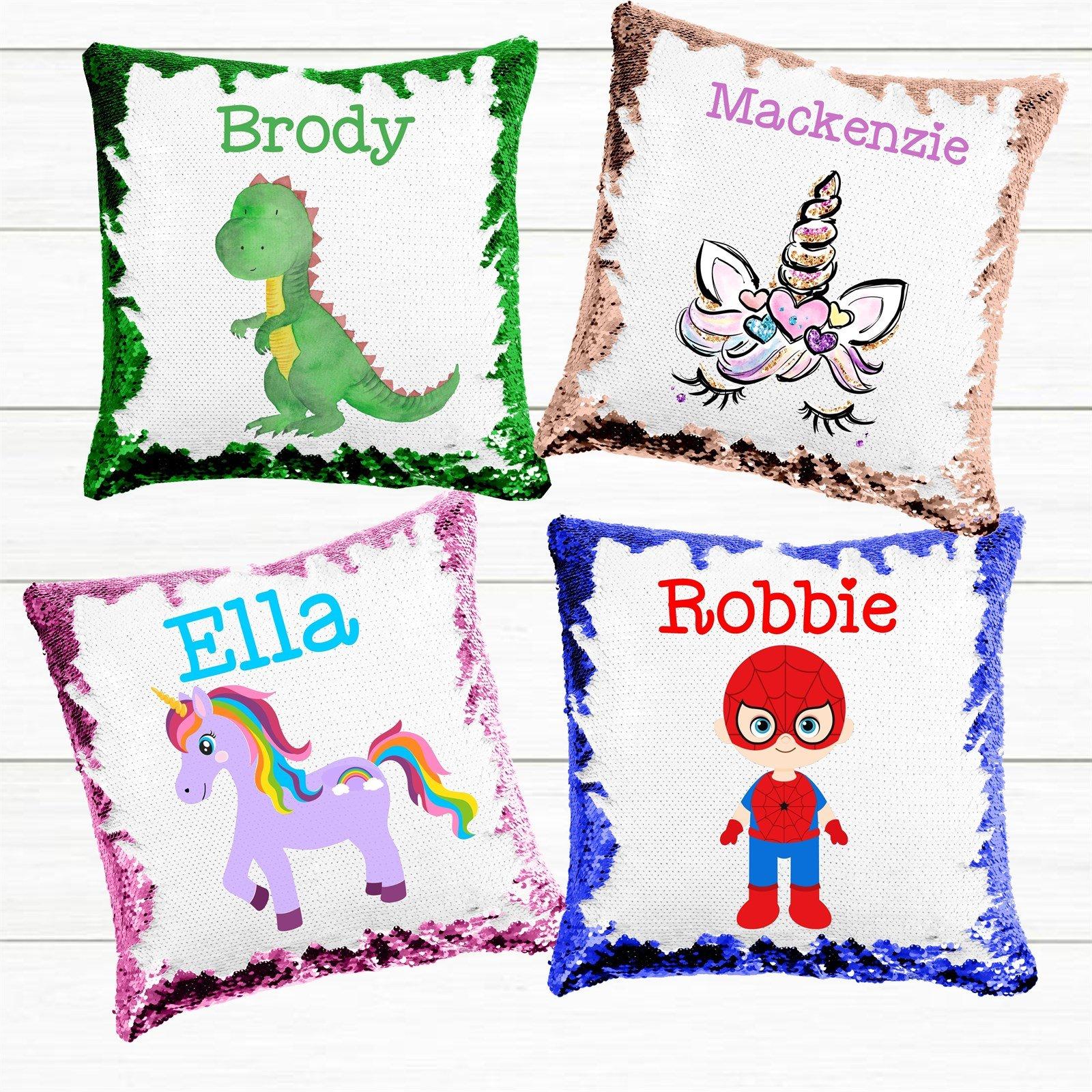 Personalized Magic Sequin Pillowcases