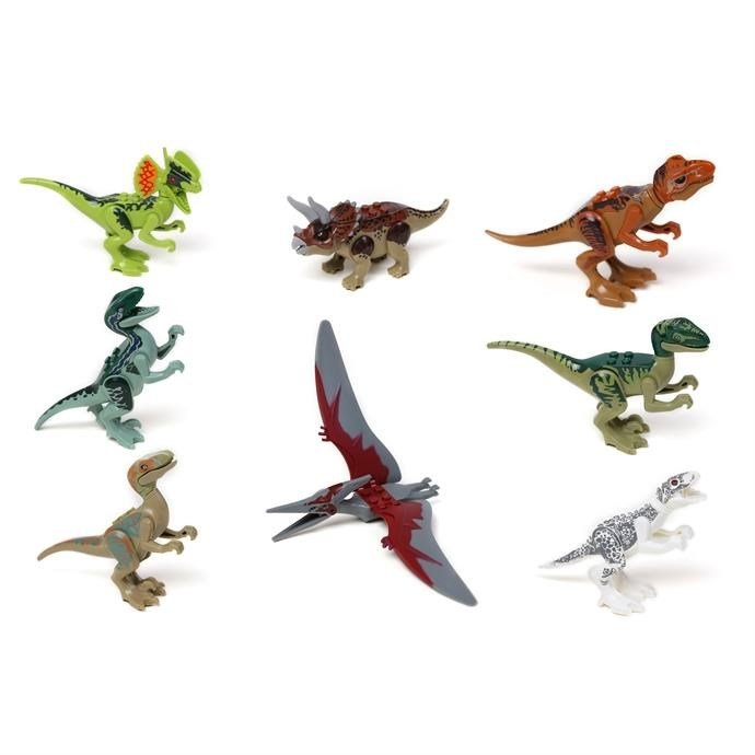Build Your Own Dinosaurs   Set of 8