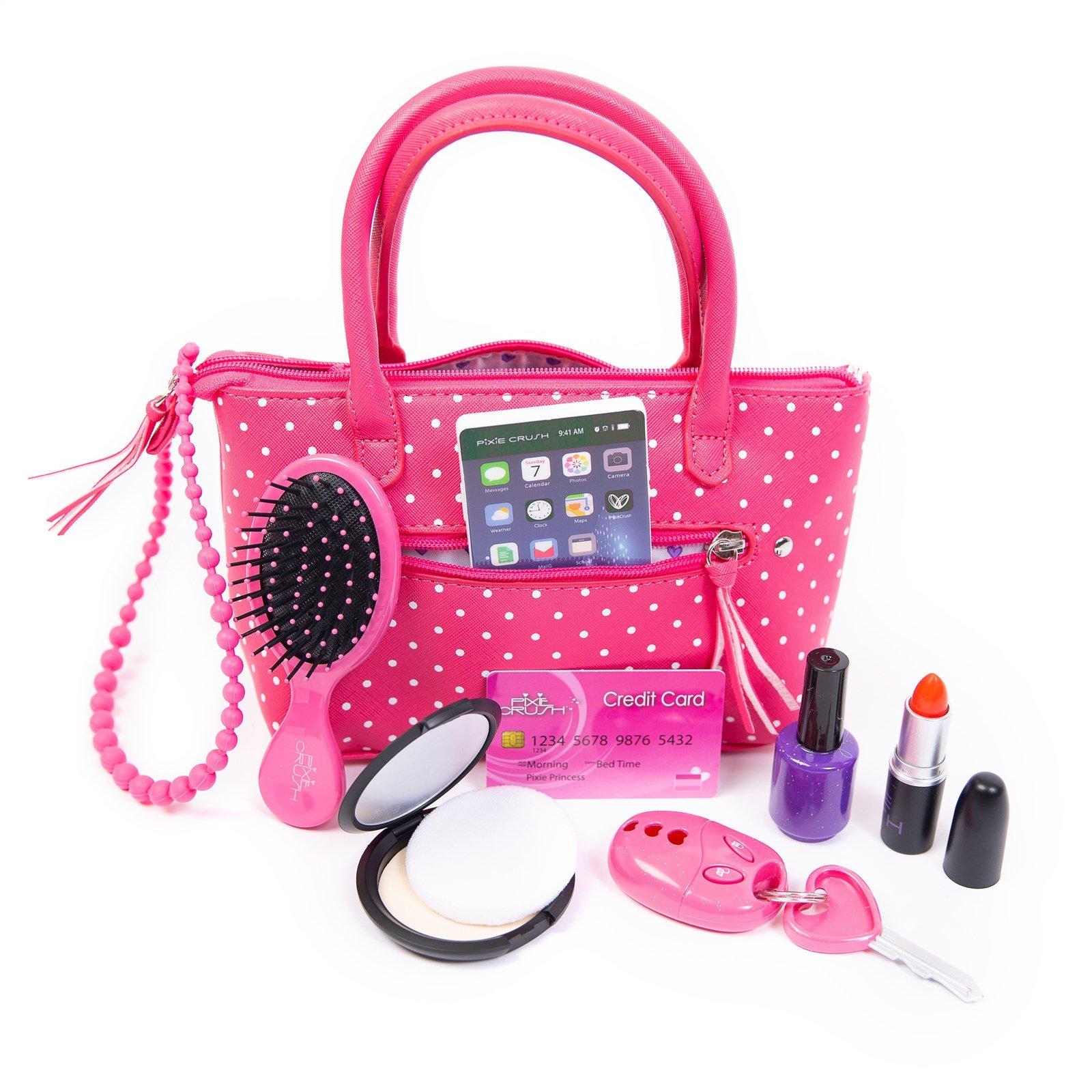 Purses w/Pretend Makeup & Accessories