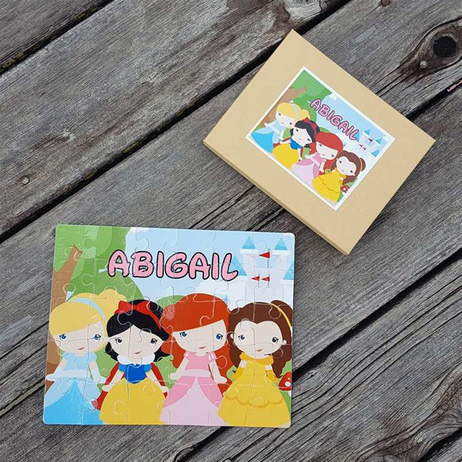 Personalized Character Puzzles