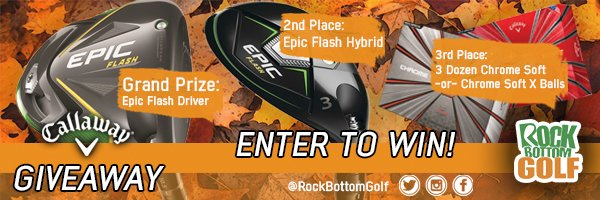 GIVEAWAY: Enter To Win FREE Callaway Gear!