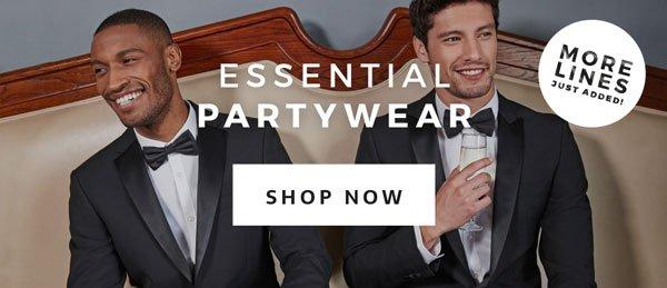 Essential partywear.