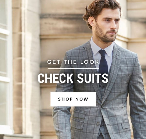 Get the look, check suits.