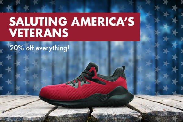 Saluting America's Veterans. 20% off everything!