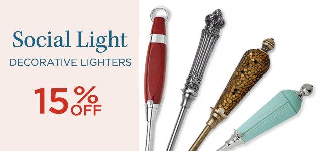 Social Light Decorative Lighters 15% OFF