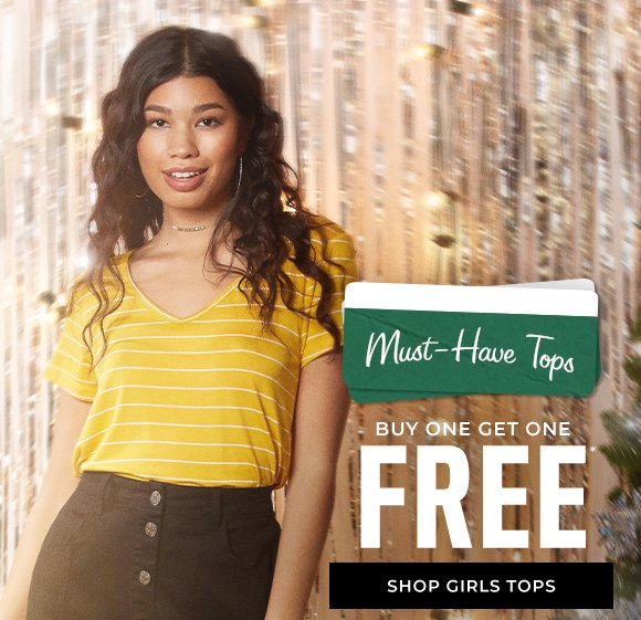 buy one get one free tops shop girls tops