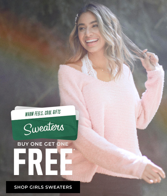 buy one get one free shop girl sweaters