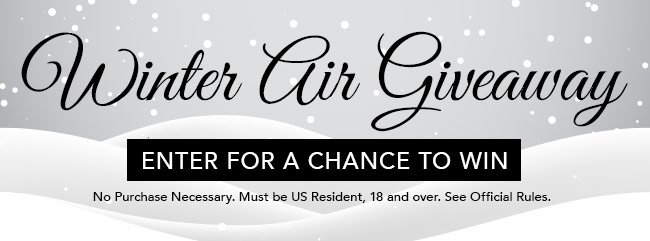 Winter Air Giveaway. One lucky person will win a Kate Spade Walk On Air Fragrance Set and a pair of Apple Airpods!