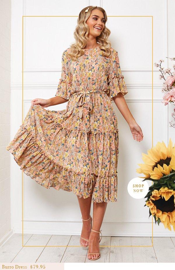 burro dress | $79.95 | shop now