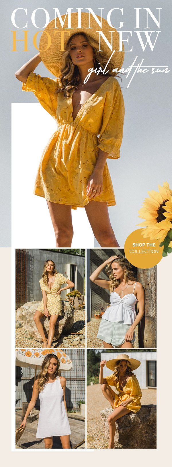girl and the sun | shop now