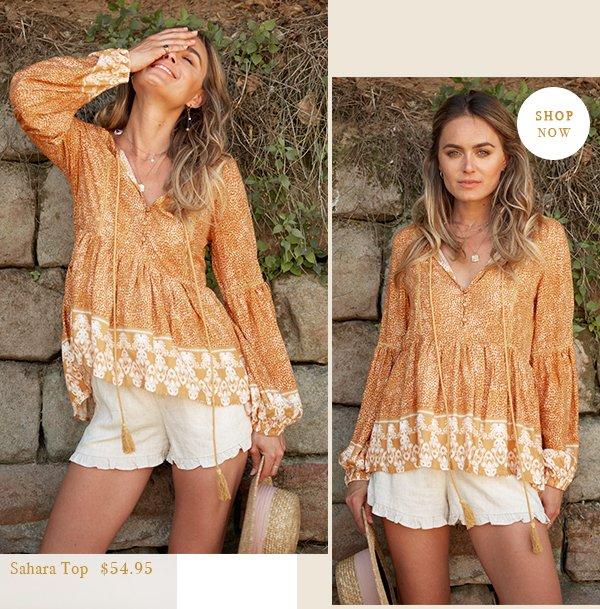 sahara top | $54.95 | shop now