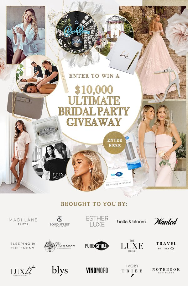 ultimate bridal party giveaway | see here