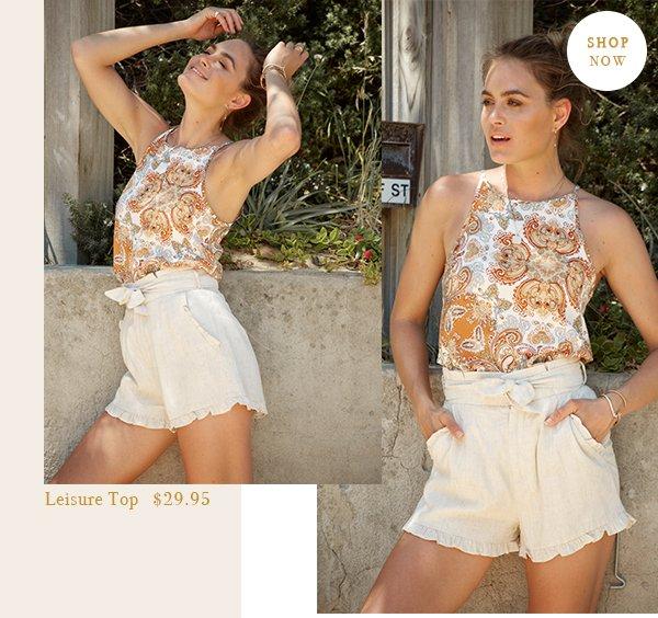 leisure top | $29.95 | shop now