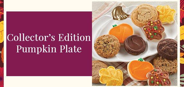 Collector's Edition Pumpkin Plate