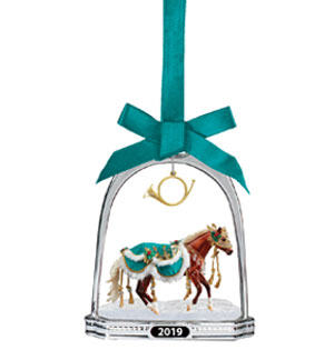 Minstrel Holiday Breyer Horse Stirrup Ornament