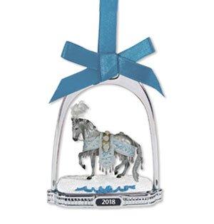 Celestine Holiday Breyer Horse Stirrup Ornament
