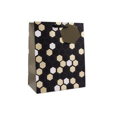 Geschenktasche M Honeycomb 24 x 19,5 x 11cm